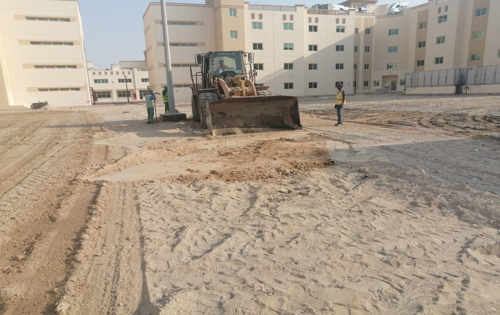 TECOM/DIC - Landscaping Works at Labour Labour City 5
