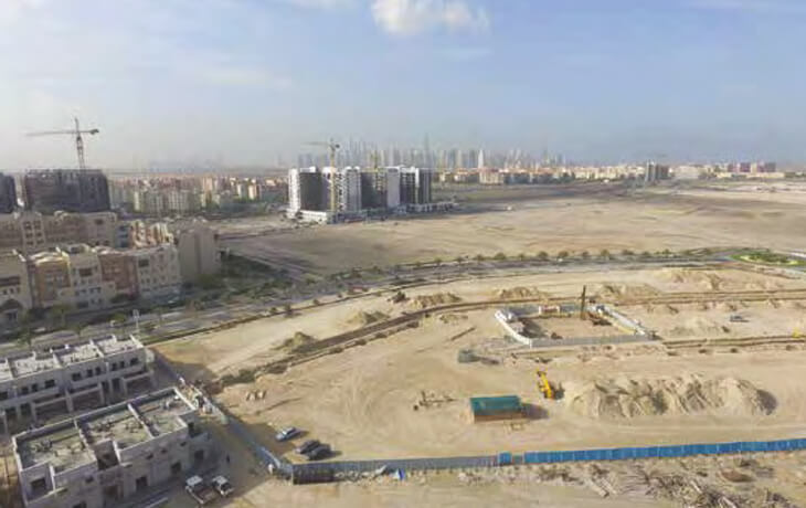 Nakheel - Al Furjan Infrastructure Third Party Along EPR