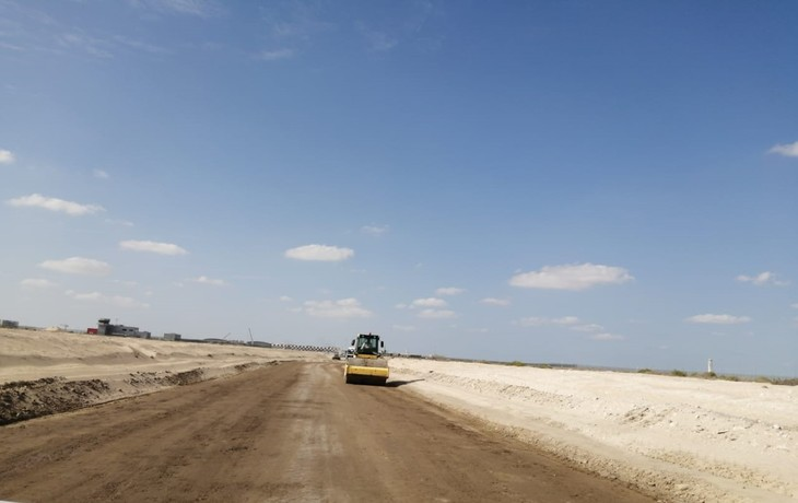 Dubai South - Construction of Road and Infrastructure